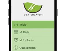La web App para la nutricón online